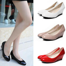 New Womens Low Mid High Heels Platforms Wedges Pumps Work Court Shoes Size 6-9
