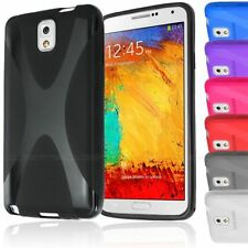 X-LINE TRANSLUCENT CLEAR TPU GEL CASE BACK COVER FOR SAMSUNG GALAXY NOTE 3 N9000