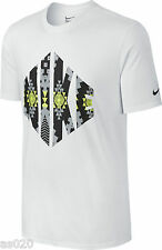 Nike Mens Air Max Sneaker Tribe Short Sleeve T-Shirt Top White Grey Black Yellow