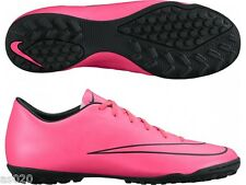 Nike Mercurial Victory V TF Astro Turf Junior Boys Football Trainers Boots  Pink