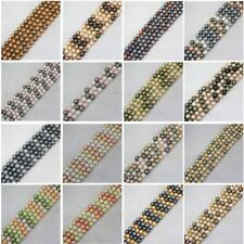 10mm Multicolor shell Bead mother Pearl Round DIY Loose Beads 15""