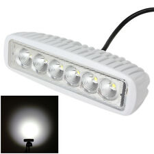 6 Inch 18W LED Work Light White Lamp Offroad Jeep ATV Truck Boat SUV 1550LM