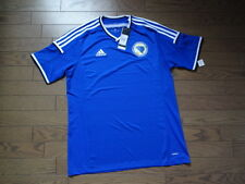Bosnia 100% Original Player Issue Soccer Jersey Shirt XL 2014 Home BNWT adizero