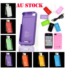 1900mA External Battery Case Cover Power Bank Extended For iPhone 4 4S AU Stock