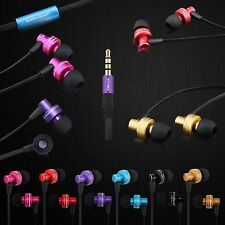 For ZTE Phone 3.5mm In-Ear Stereo Earbud Earphone Headset Headphone SuperBass