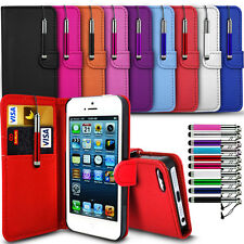 EE Harrier Mini - Stand and Card Slot Flip Wallet Case Cover & Retractable Pen