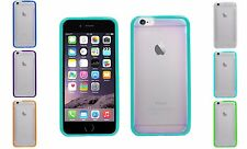 Crystal Clear TPU Bumper Gel Grip Hard Back Case Cover For Apple iPhone 6 4.7""