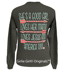 "Girlie Girl Originals ""Good Girl"" Long Sleeve Unisex Fit T-Shirt"