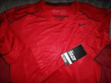 NIKE PRO COMBAT FITTED DRI-FIT SHIRT MENS SIZE XXL XL NWT $35