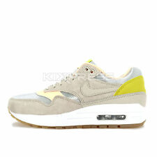 WMNS Nike Air Max 1 PRM [454746-006] NSW Running Metallic Silver/Sunset Glow