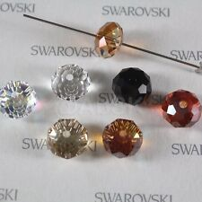 2 pieces Swarovski Elements 5040 12mm RONDELLE Spacer Beads - Pick Colors