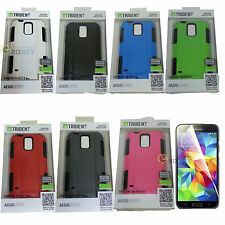 For Samsung Galaxy S V S5 I9600 Trident Aegis Rugged Hybrid Impact Case Cover