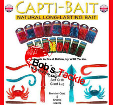 WSB CAPTI BAIT ARTIFICIAL EDIBLE NATURAL BAIT RANGE FOR ALL COARSE/SEA FISHING