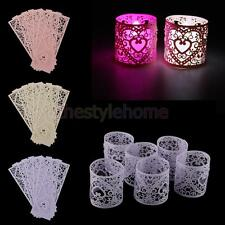6x Vintage Tealight Candle Tea Light Holder Votive Home Wedding party Decoration