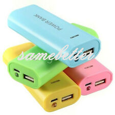 5600mAh USB Portable 18650 Battery Charger Case Power Bank For Cell Phone