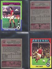 TOPPS - FOOTBALL 1975 RED BACK (NUMBERS 176-200) PLEASE SELECT YOUR CARD.