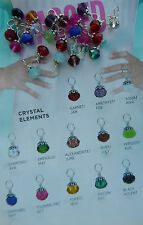Authentic Origami Owl Crystal Elements Tag Dangle - Retired!!
