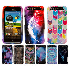 For Motorola Atrix 3 Dinara HD MB886 Various Patterned HARD Case Cover Accessory