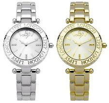 Lipsy London Round Dial Stainless Steel Bracelet Ladies Watch