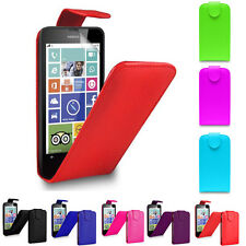 Magnetic Top Wallet Flip Book PU Leather ID Case Cover For Nokia Lumia Phones UK