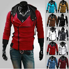 Stylish Creed Hoodie Cool Slim men's Cosplay For Assassins Jacket Costume kkl213