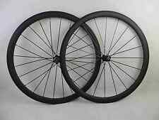700C 38mm clincher bike carbon road bicycle wheels carbon wheelset