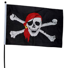 Sale 2015 New 45*30cm and 90*150cm Skull Flag Flag Cross Crossbones Pirate Flag