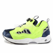 Reebok Instapump Fury Raaod [V66585] Classic Running Navy/Yellow-Grey