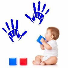 Nursery Playroom Hand Print Wall Sticker Parent Child Decal Mural Transfer Vinyl