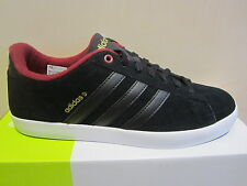 Adidas Men's Lace-up Shoes Sneakers trainers DERBY black/bordo leather new
