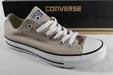 Converse All Star Lace up, beige, Textile/ Canvas, New