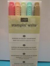 BRAND NEW Stampin Up IN COLOR Stampin Write Markers (Set of 5)
