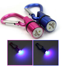 Chic Aluminum Dog Cat Pet Flash Waterproof LED Light Safety Collar Tag 2 Colors