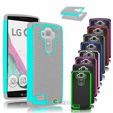 Hybrid Impact Rugged Rubber Shockproof Hard Protective Case Cover Skin For LG G4