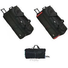 Large Luggage Duffle Bag Holdall Travel Suitcase With Wheels 80*40*38cm