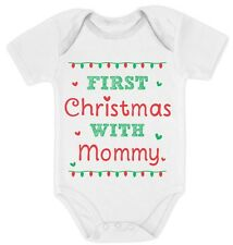First Christmas with Mommy - Cute Xmas Baby Grow Vest Baby Onesie Gift Idea