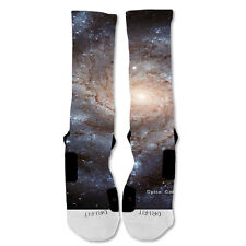 Nike Elite socks custom Galaxy Grey