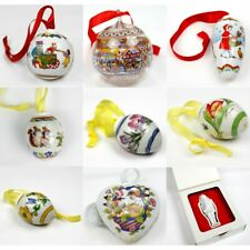 Brand New Genuine Hutschenreuther In Box-Xmas Christmas Ornaments Holiday Season