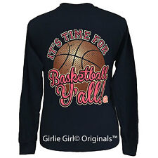 "Girlie Girl Originals ""Basketball Y'all"" Long Sleeve Unisex Fit T-Shirt"