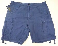NWT $89 Polo Ralph Lauren Cargo Shorts Relaxed Fit Mens 32 36 Cotton Blue NEW