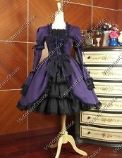 Lolita Victorian Gothic Vintage Dress Ball Gown Steampunk Theatrical Costume 233