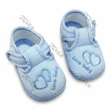 Super Cute Toddler Baby Girl Prewalker Soft Child Plain Walking Shoes 0-12Months