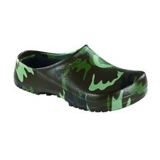 Birkenstock Professional Super Birki Clogs - Green Camouflage - Regular