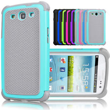 Shockproof Rugged Rubber Hard Case Protective Cover For Samsung Galaxy S3 i9300
