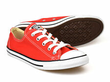 Converse Chuck Taylor All Star Dainty OX Carnival Red UK 3-5.5 �55