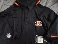 NIKE CINCINNATI BENGALS NFL FOOTBALL ON FIELD POLO SHIRT XL L M NWT $90.00