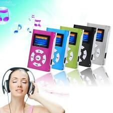USB Clip Digital MP3 Player LCD Screen Support 32GB Micro SD TF Card Useful AD