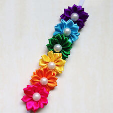 Chic Baby Infant Toddler Colorful Headband Flower Pearl Headwear Hair Band New