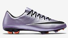 Nike JR Mercurial Vapor X FG Youth Soccer Cleats Football Shoes Lilac/Mango/Blk