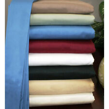 1000TC EGYPTIAN COTTON 1 PC FITTED SHEET SET ALL SIZE KING/CAL-KING/QUEEN/FULL